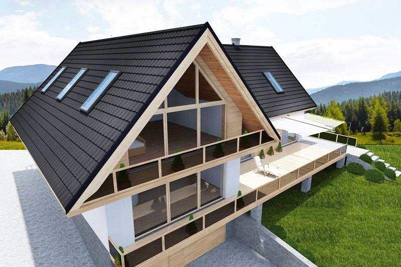 Dbejte i na nátěr plechové střechy, respektive na jeho kvalitu