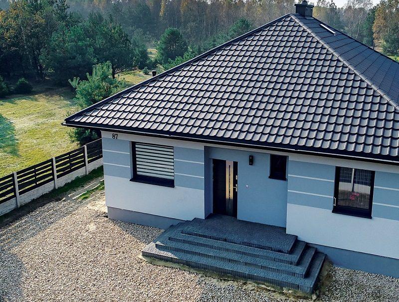 Plechová střecha a její skladba