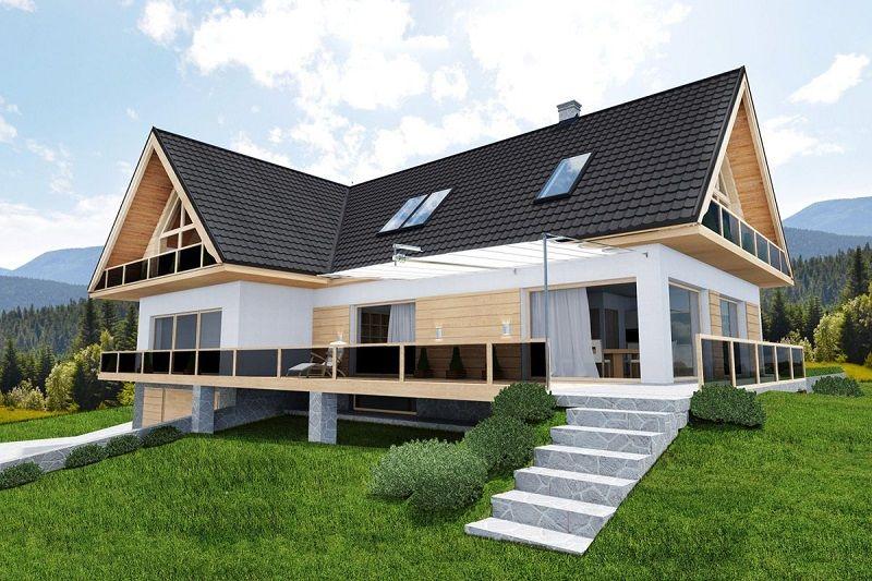 Skladba střechy s plechovou krytinou